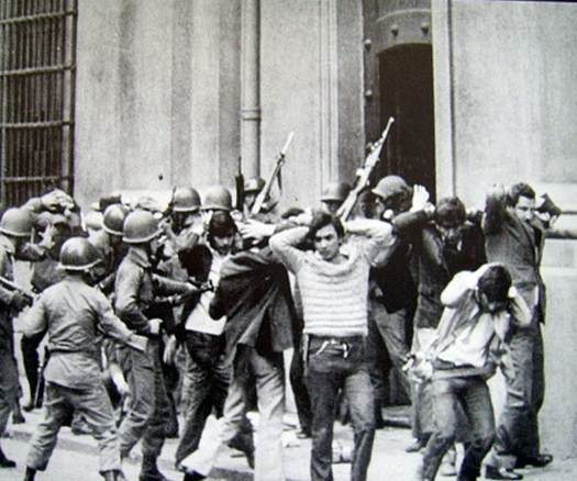 Represion durante la dictadura