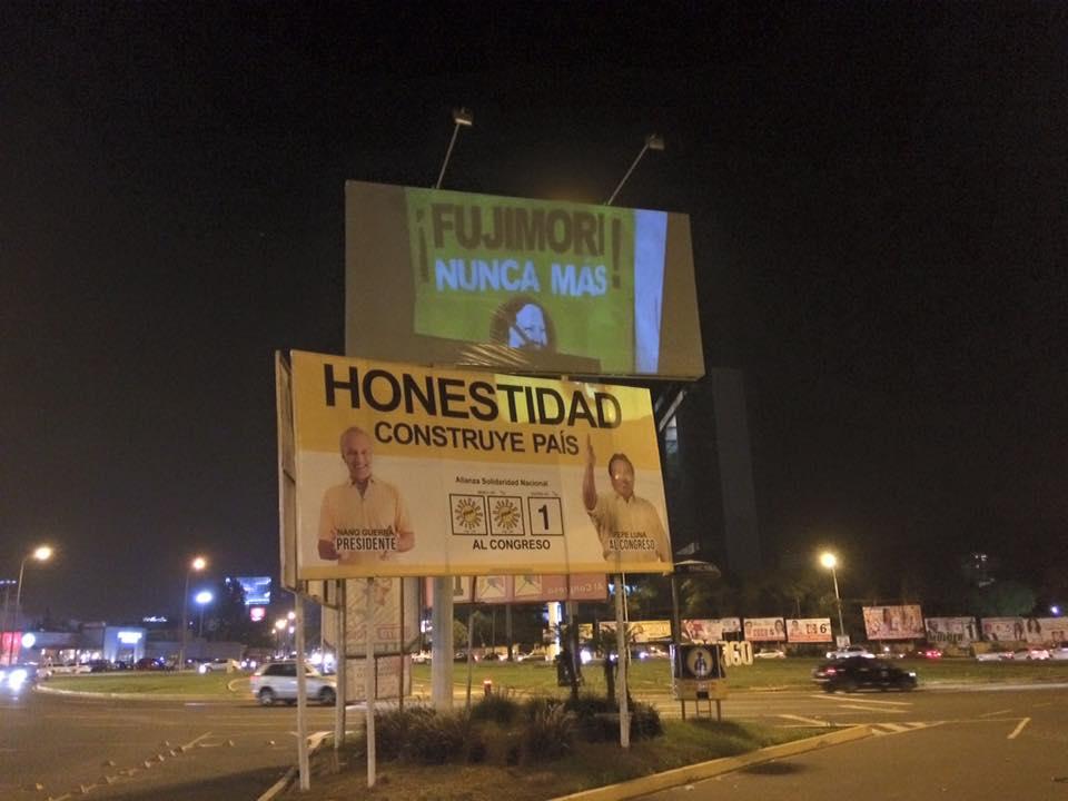 Proyección en Lima